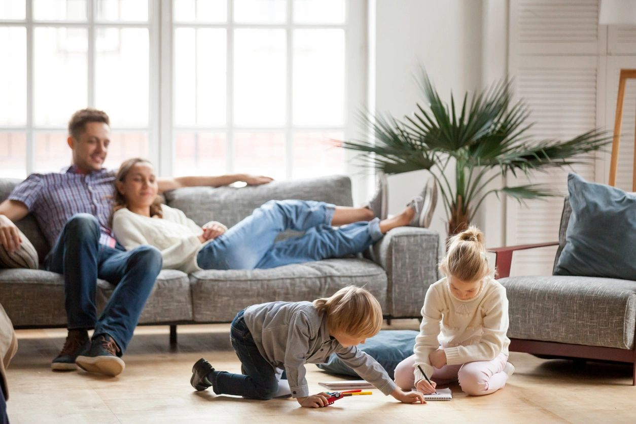 relax in your clean home
